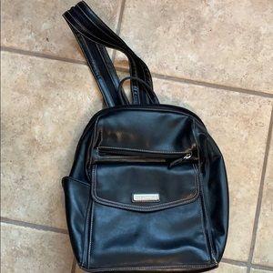 Never worn Black Vinyl Backpack!